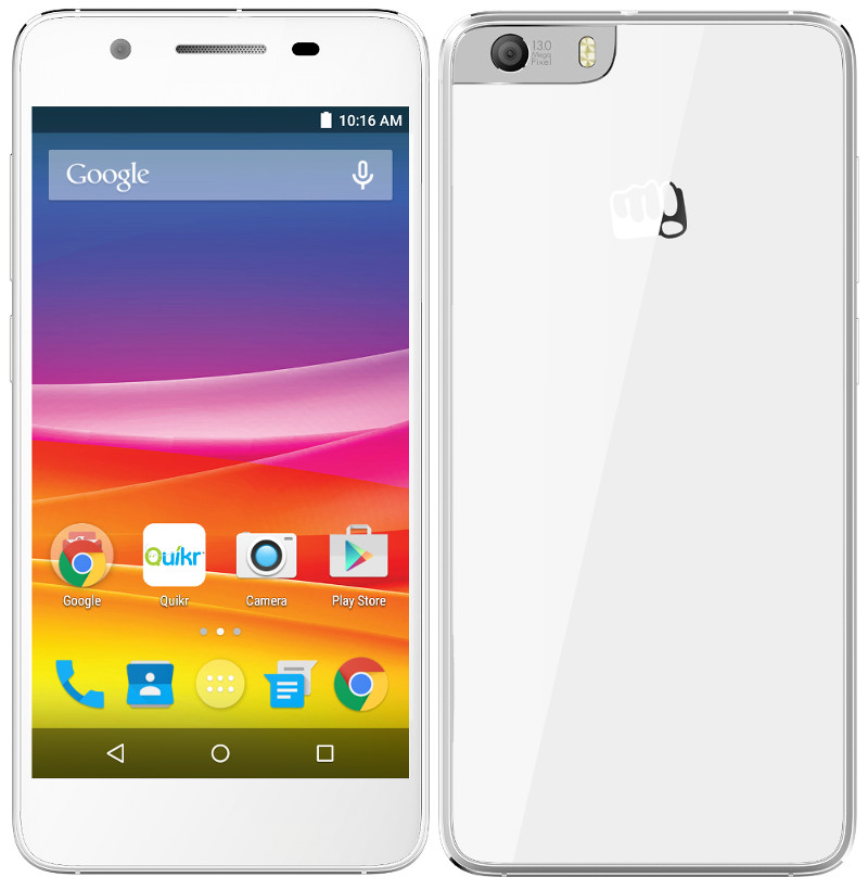 Micromax Canvas Knight 2 With 5-inch HD Display