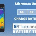 Micromax Unite 3 FoneArena One Charge Rating