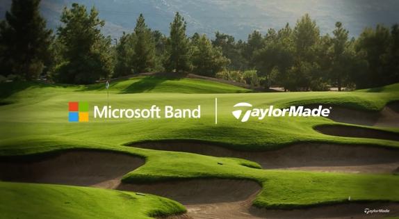 Microsoft band golf tracking