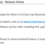 Moto X 2014 Android Lollipop Update