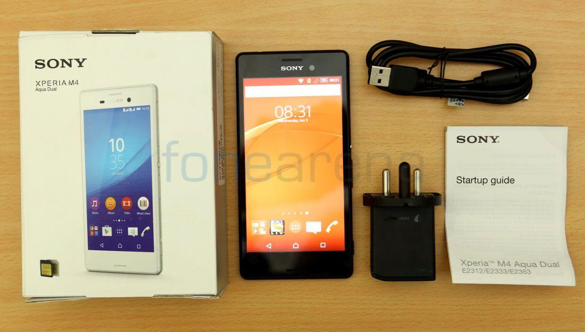 Sony Xperia M4 Aqua Dual Unboxing