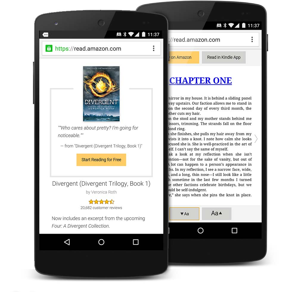 How to Use the Amazon Kindle App on Your Android Tablet ...