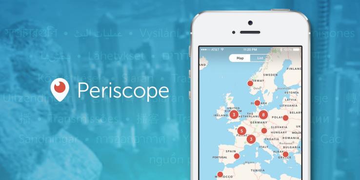 periscope iOS update