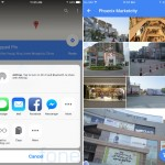 Google Maps 4.8.0 for iOS location sharing and  Image Gallery