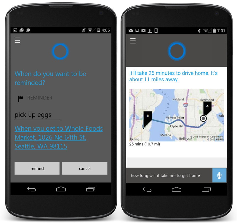 Cortana for Android leaks ahead of official launch