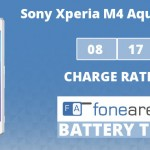 Sony Xperia M4 Aqual Dual FA One Charge Rating