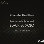 Xolo BLACK launch invite