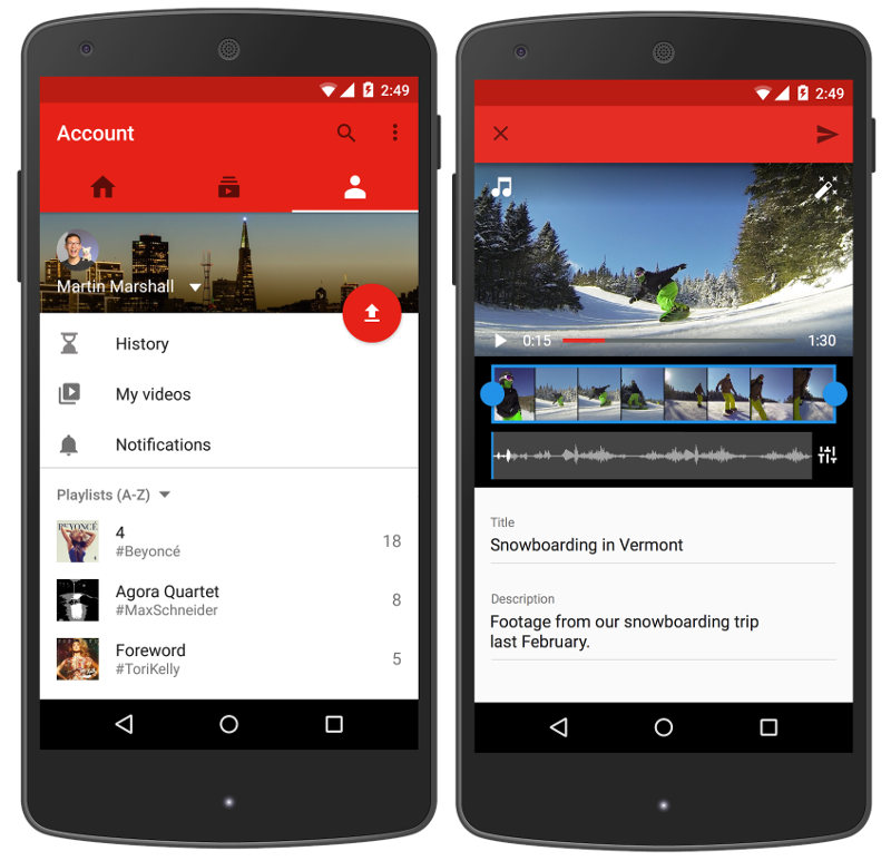 how to download youtube videos on android app