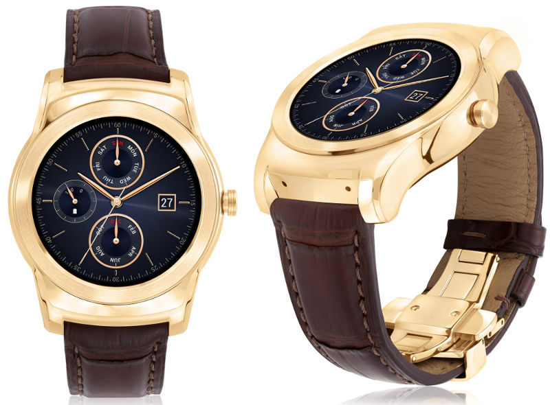 LG Watch Urbane Luxe 23-karat gold limited edition Android ...