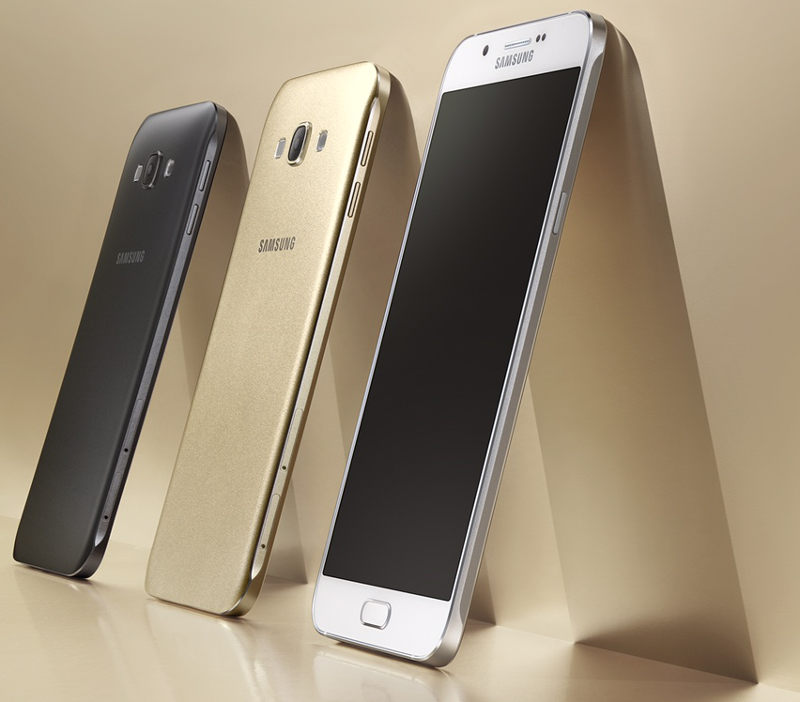 Product details of Samsung Galaxy A8 SMA800F Gold LTE 32GB/2GB RAM