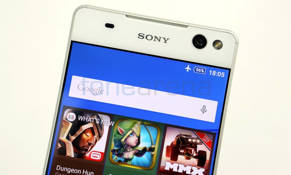 Sony Xperia C5 Ultra Dual Unboxing