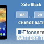 Xolo Black FoneArena One Charge Rating