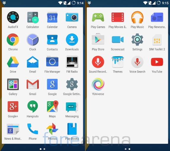 Yu Yureka Plus Apps