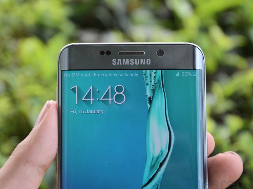 Samsung Galaxy S6 edge+ Silver Titanium Photo Gallery / IT