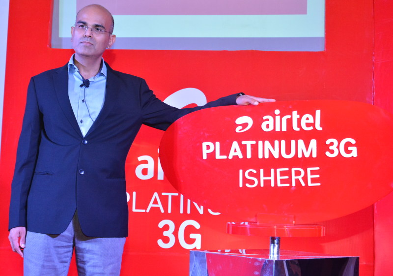 Airtel Platinum 3G launch
