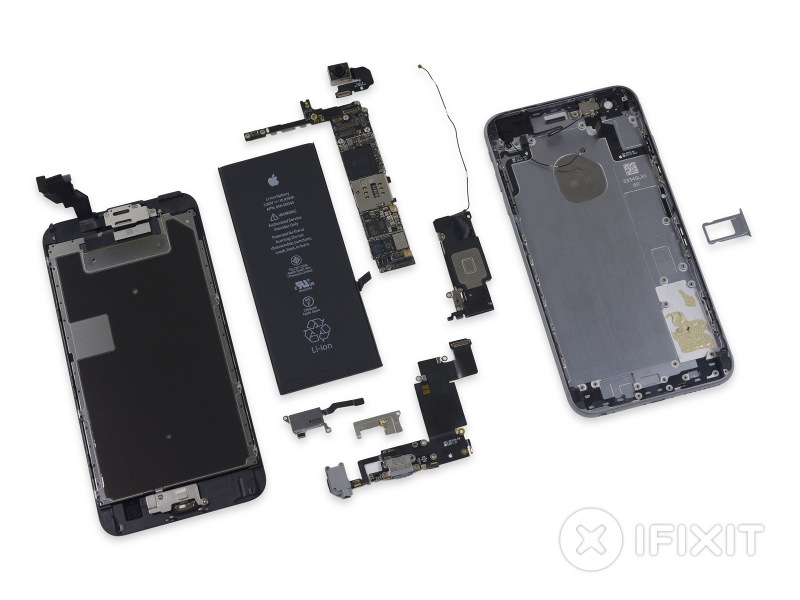 Apple iPhone 6s and 6s Plus teardown confirms smaller ...