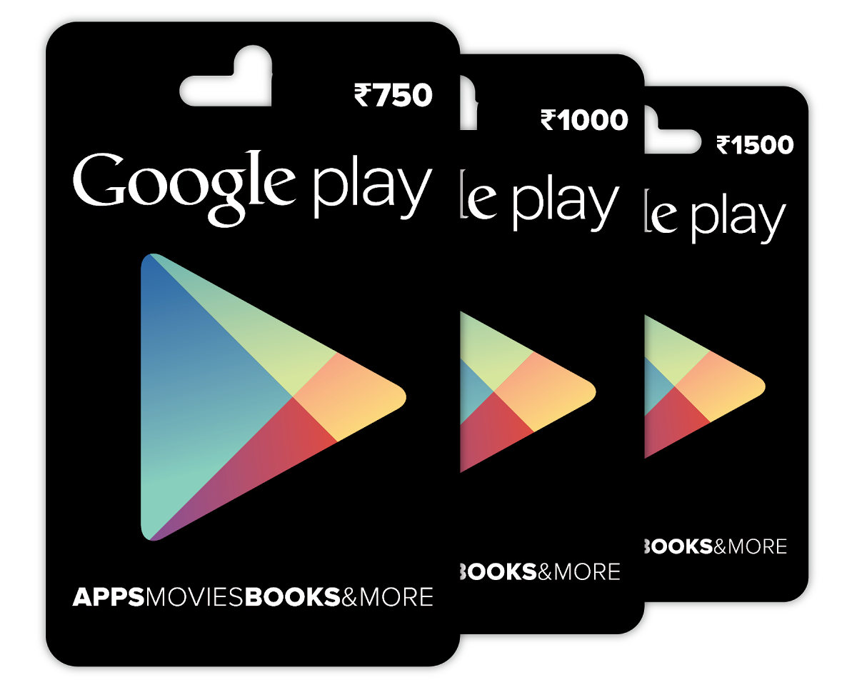 Google Play Gift cards now available for purchase in India