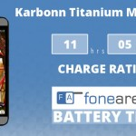 Karbonn Titanium MachFive FA One Charge Rating