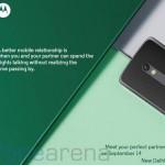 Motorola Moto X Play India launch invite