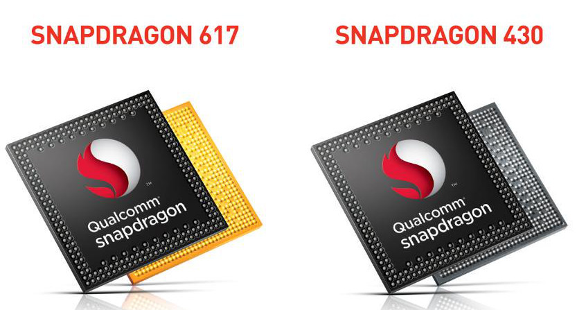 Qualcomm Snapdragon 617 and Snapdrgon 430