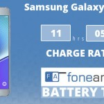 Samsung Galaxy Note 5 FA One Charge Rating