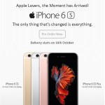 Apple iPhone 6s pre-order India