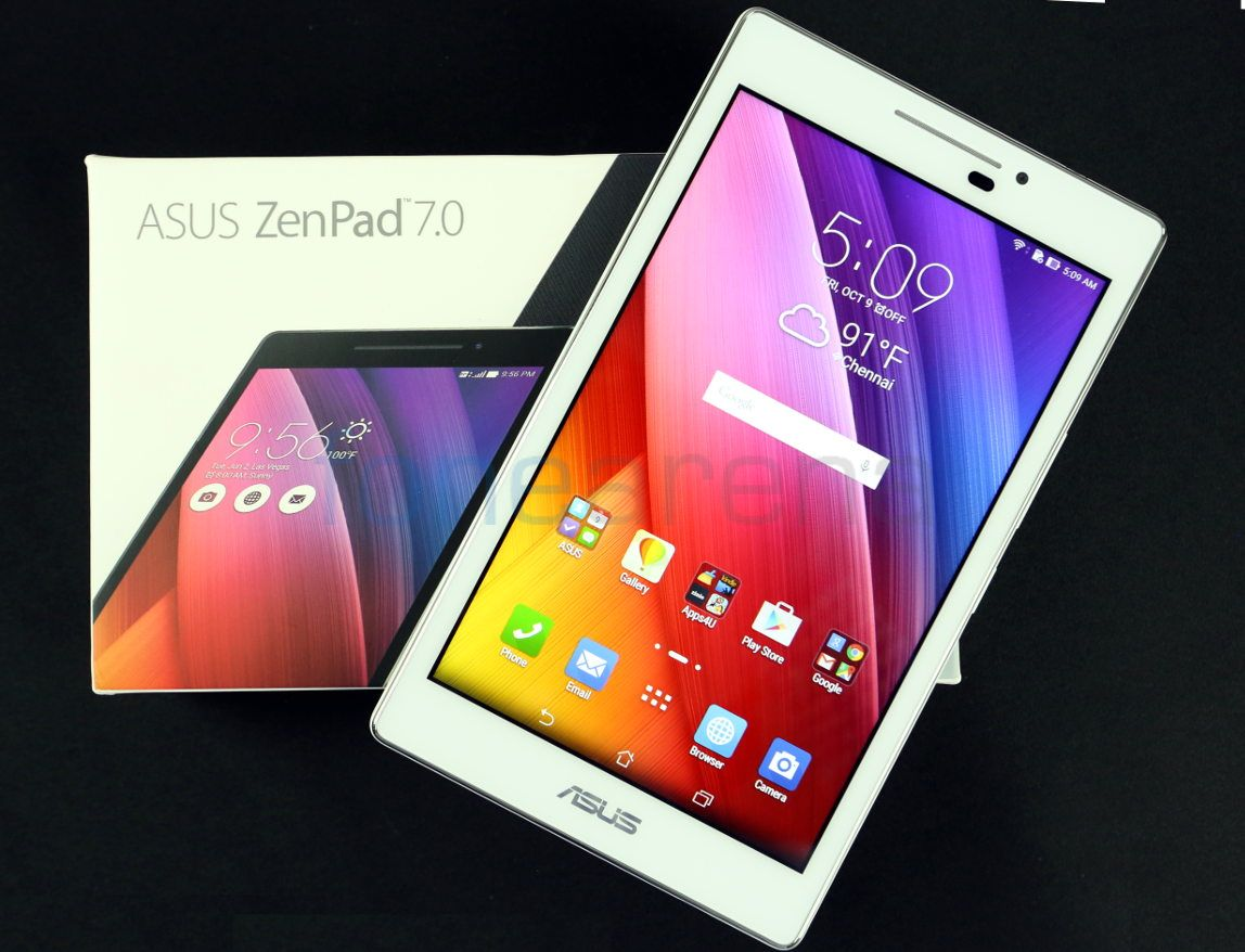 Asus ZenPad 7.0 and Audio Cover Unboxing