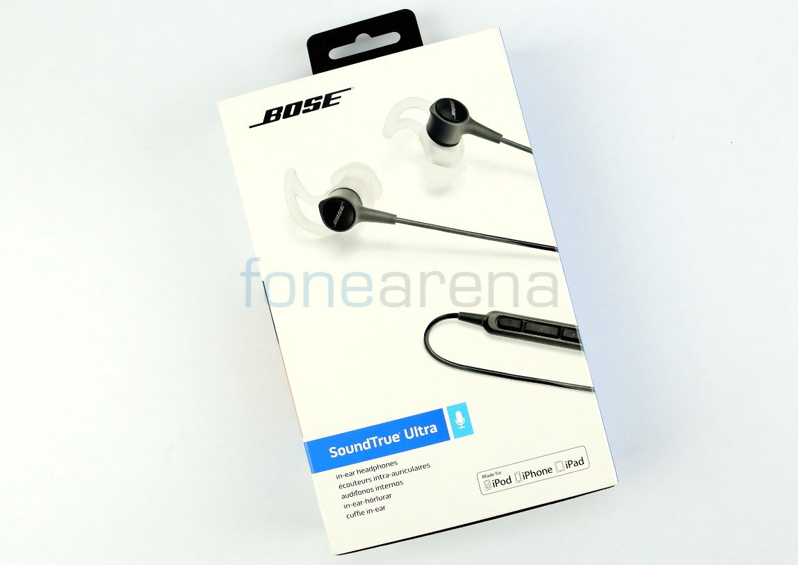 Bose SoundTrue Ultra in-ear headphones in Black color made for Apple ...