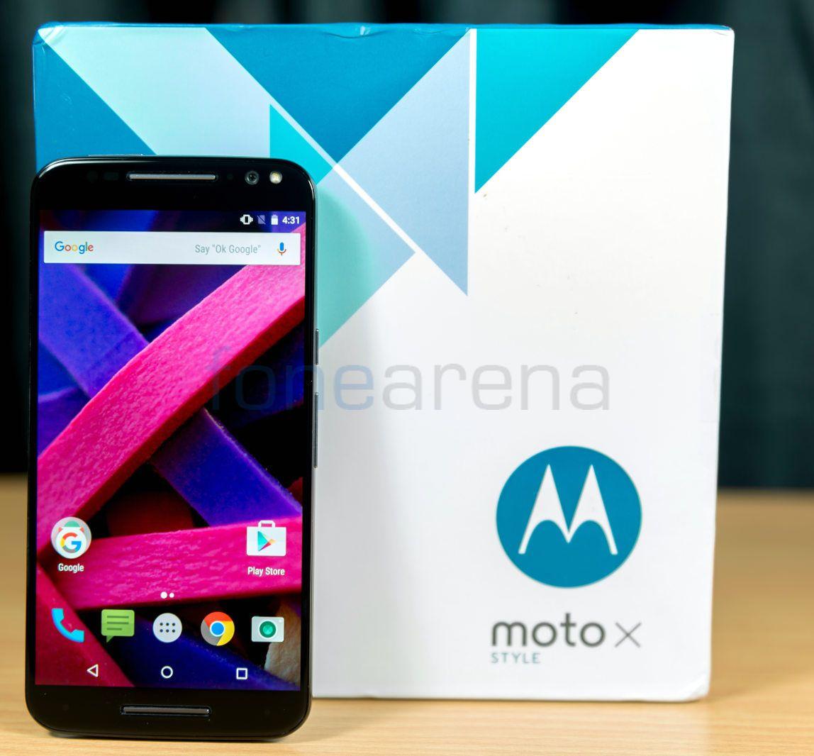 Motorola Moto X Style Unboxing. Motorola Moto X Style_fonearena,04