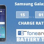 Samsung Galaxy J7 FA One Charge Rating