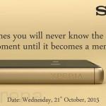 Sony Xperia Z5 India launch invite