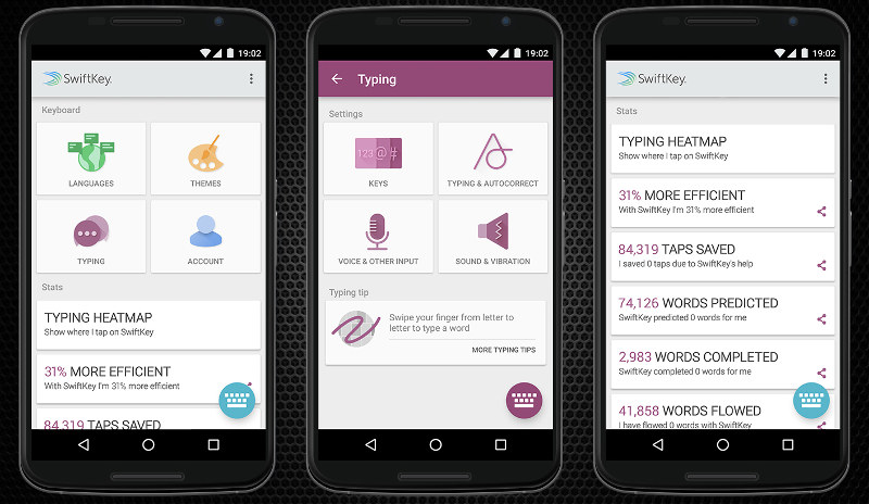 SwiftKey 6.0 Beta for Android brings double-word ...
