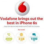 Vodafone iPhone 6s free offer