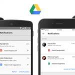 Google drive sharing notification