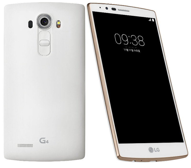lg has launched a new white gold variant of the g4 flagship smartphone