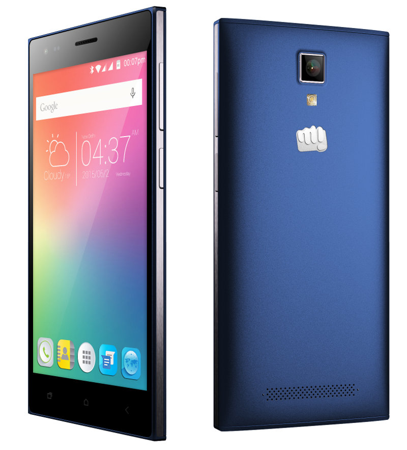 Micromax Canvas Xpress 4g With 5 Inch Hd Display 2gb Ram