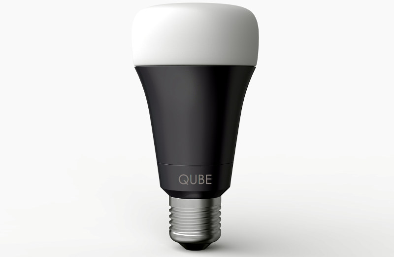 qube smart bulb with wi fi and bluetooth introduced for 19. Black Bedroom Furniture Sets. Home Design Ideas