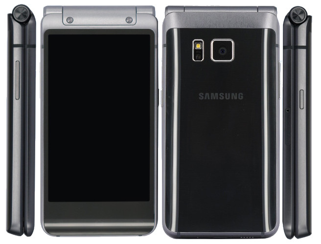 samsung w2016. samsung galaxy golden 3 (sm-w2016) flip phone with dual displays gets certified in china w2016