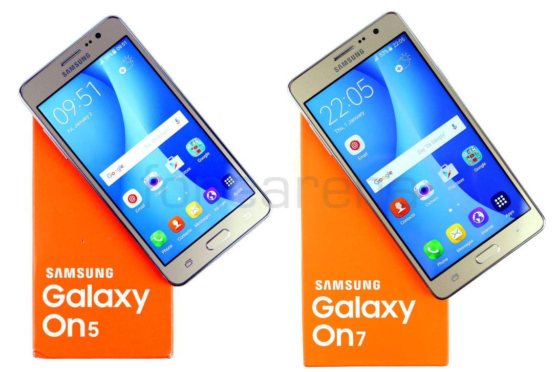 Kết quả hình ảnh cho Samsung Galaxy On5 Pro and On7 Pro