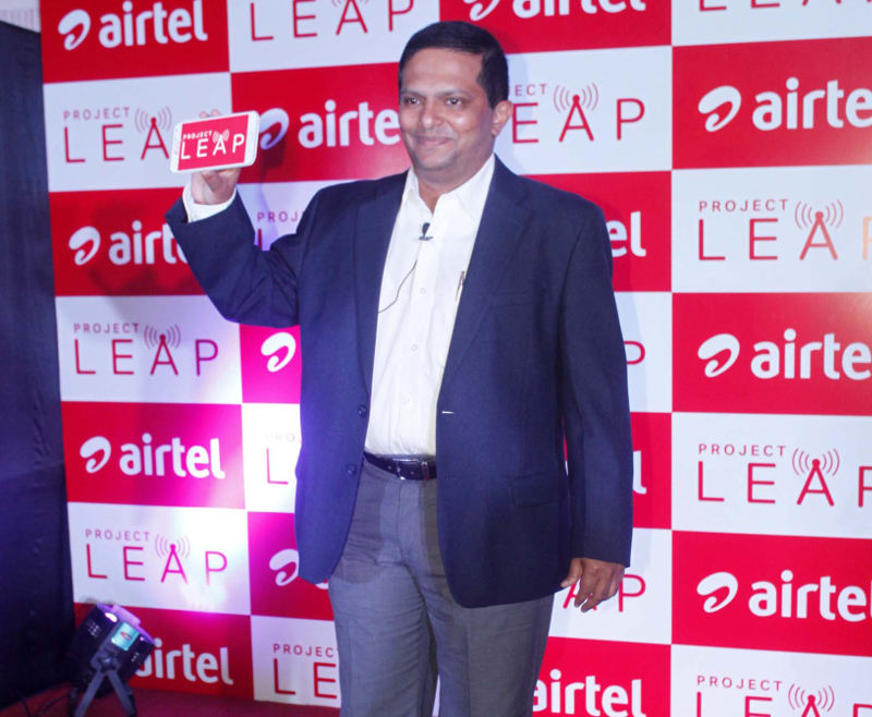 airtel project Airtel introduces project leap which lets user check the network coverage to the street level including 2g, 3g, 4g and broadband.