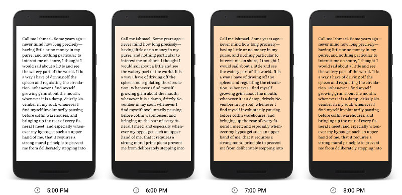 Google Play Books gets Night Light feature for easier ...