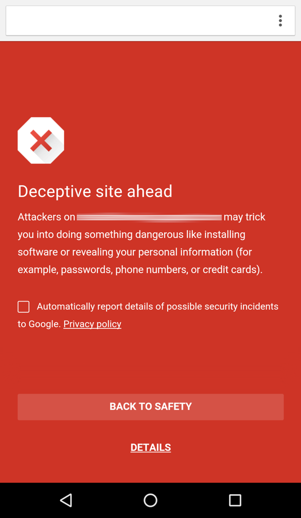 Google Brings Safe Browsing To Chrome On Android
