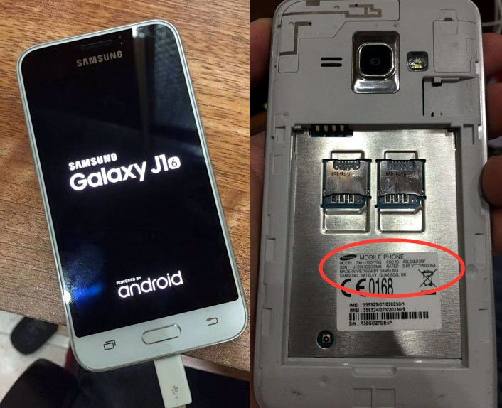 Samsung Galaxy J1 (2016) with 4.5-inch display, Android 5.1 live ...