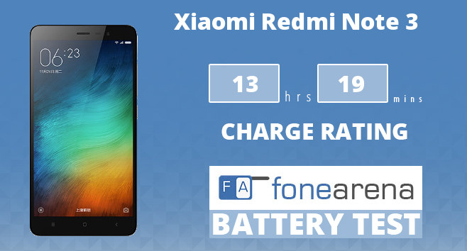 Xiaomi Redmi Note 3 Battery Life Test