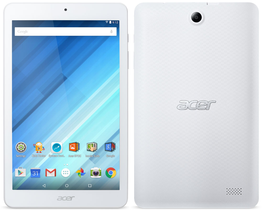 Acer Iconia One 8 B1-850 with 8-inch HD display, Android 5 ...
