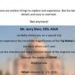Asus Zenfone Zoom India launch invite
