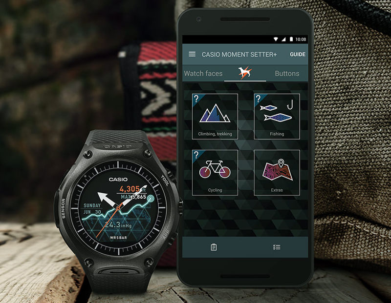 Casio WSD-F10 is the first rugged Android Wear smartwatch ...