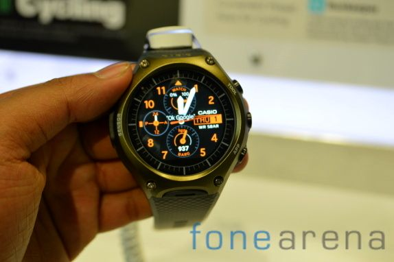 Casio WSD-F10 Android Wear smartwatch goes on sale for $500