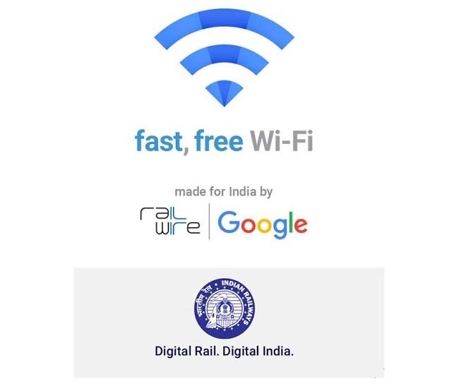 Google Railwire WiFi India