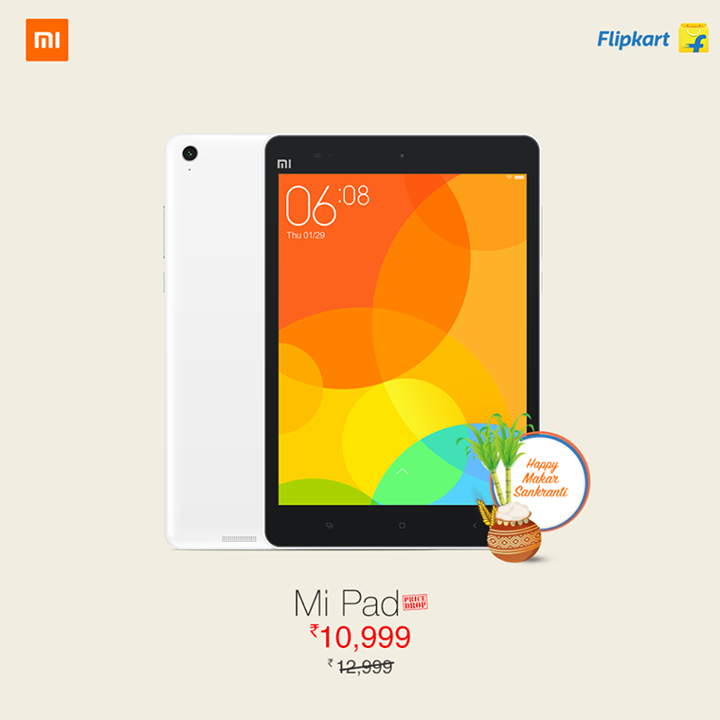 Xiaomi Mi Pad gets permanent price cut in India, now available for Rs 10,999